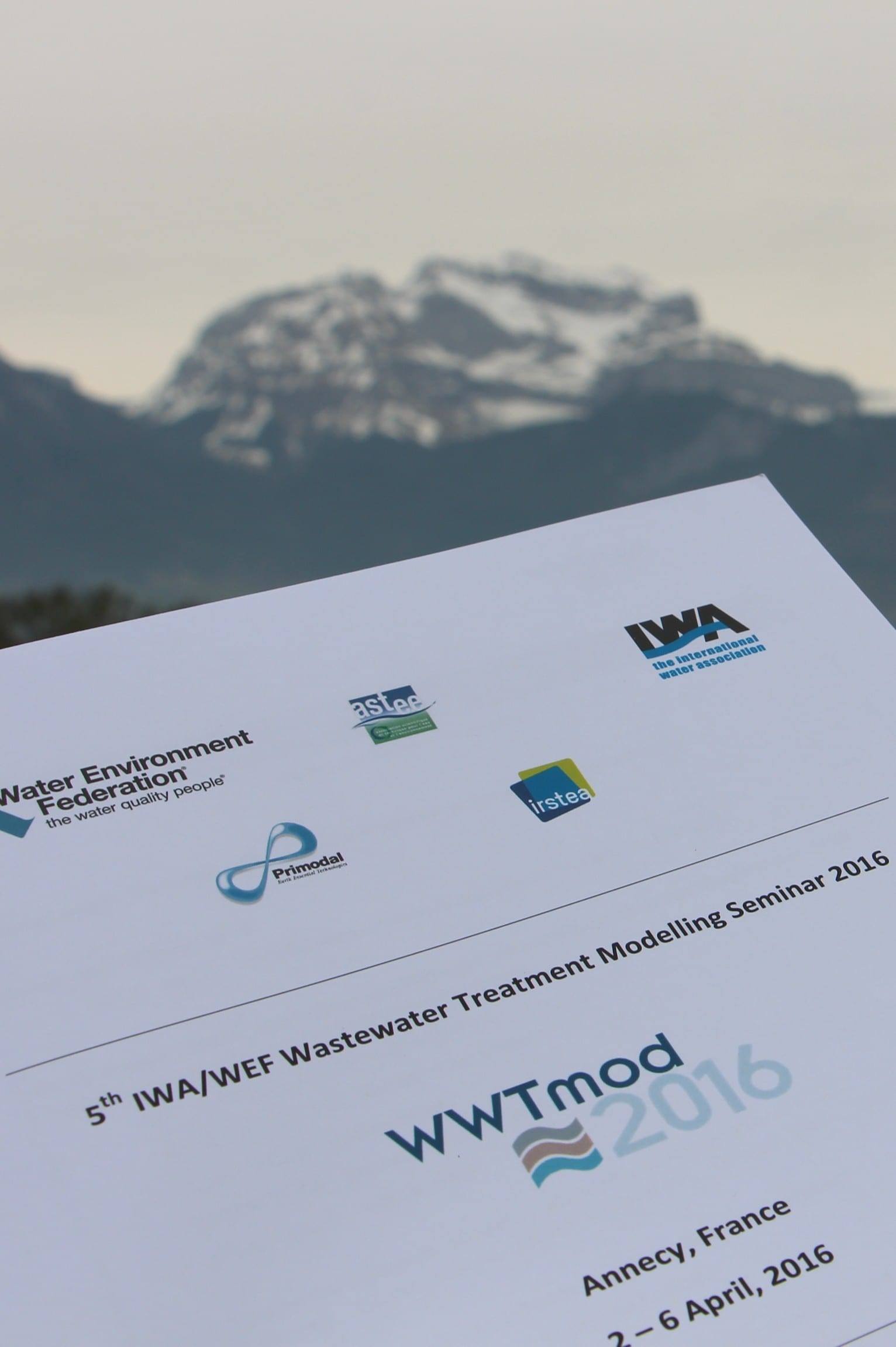 inCTRL Solutions at WWTmod2016 in Annecy, France
