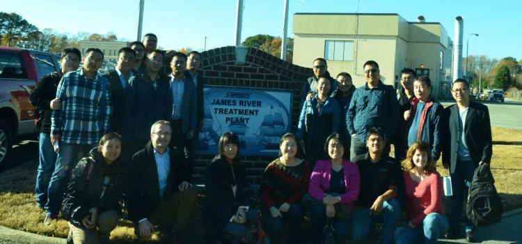 Beijing Drainage Group visits HRSD