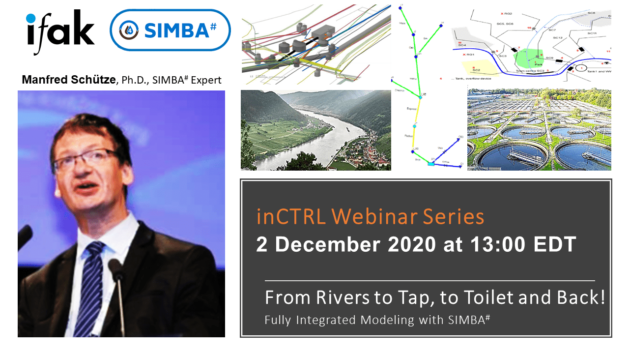 """11th inCTRL Webinar on """"Widening your horizons: Integrated Modeling in SIMBA#"""""""