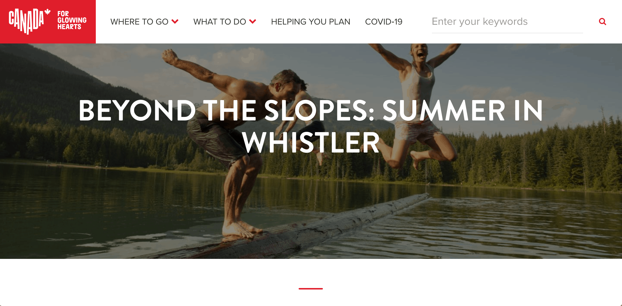 Keep Exploring Canada - Beyond the Slopes in Whistler