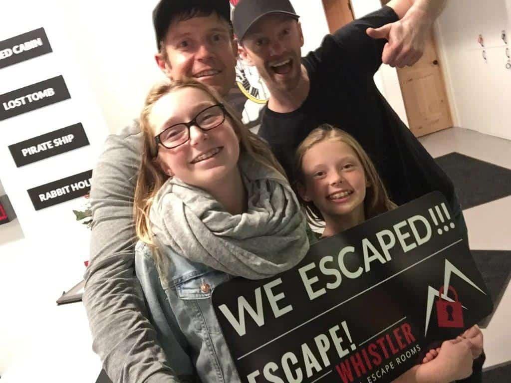 Dai Manuel & Family- Escape! Whistler