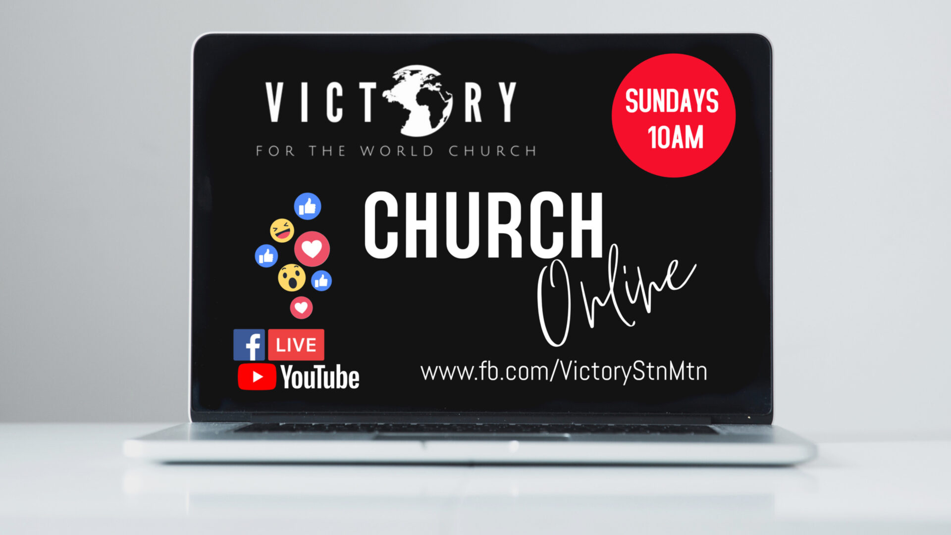 Copy of Copy of Online Church Advertisement