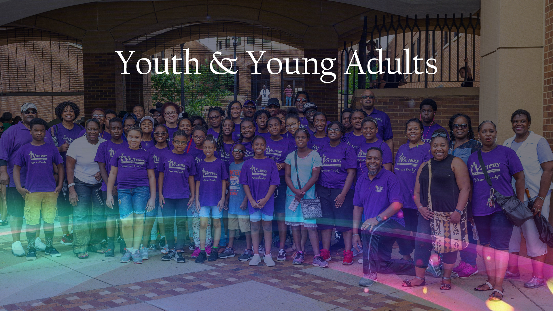Youth Group Banner