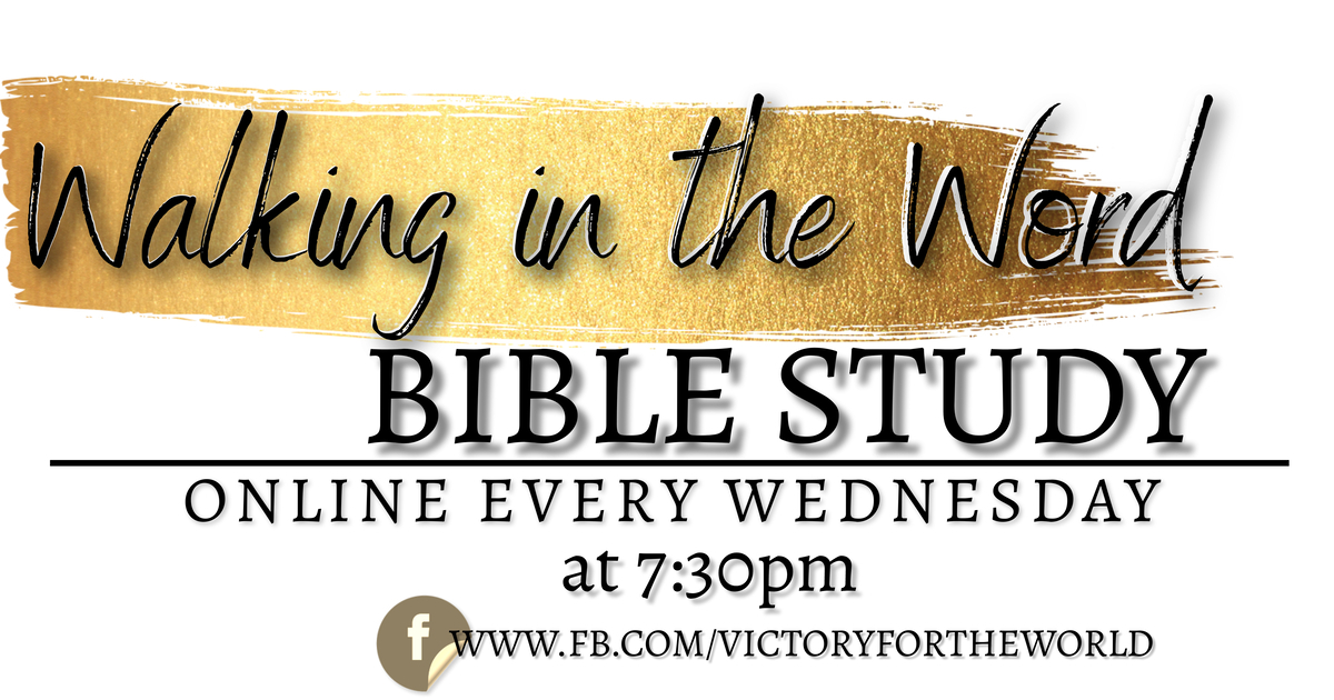 Walking in the Word Bible Study