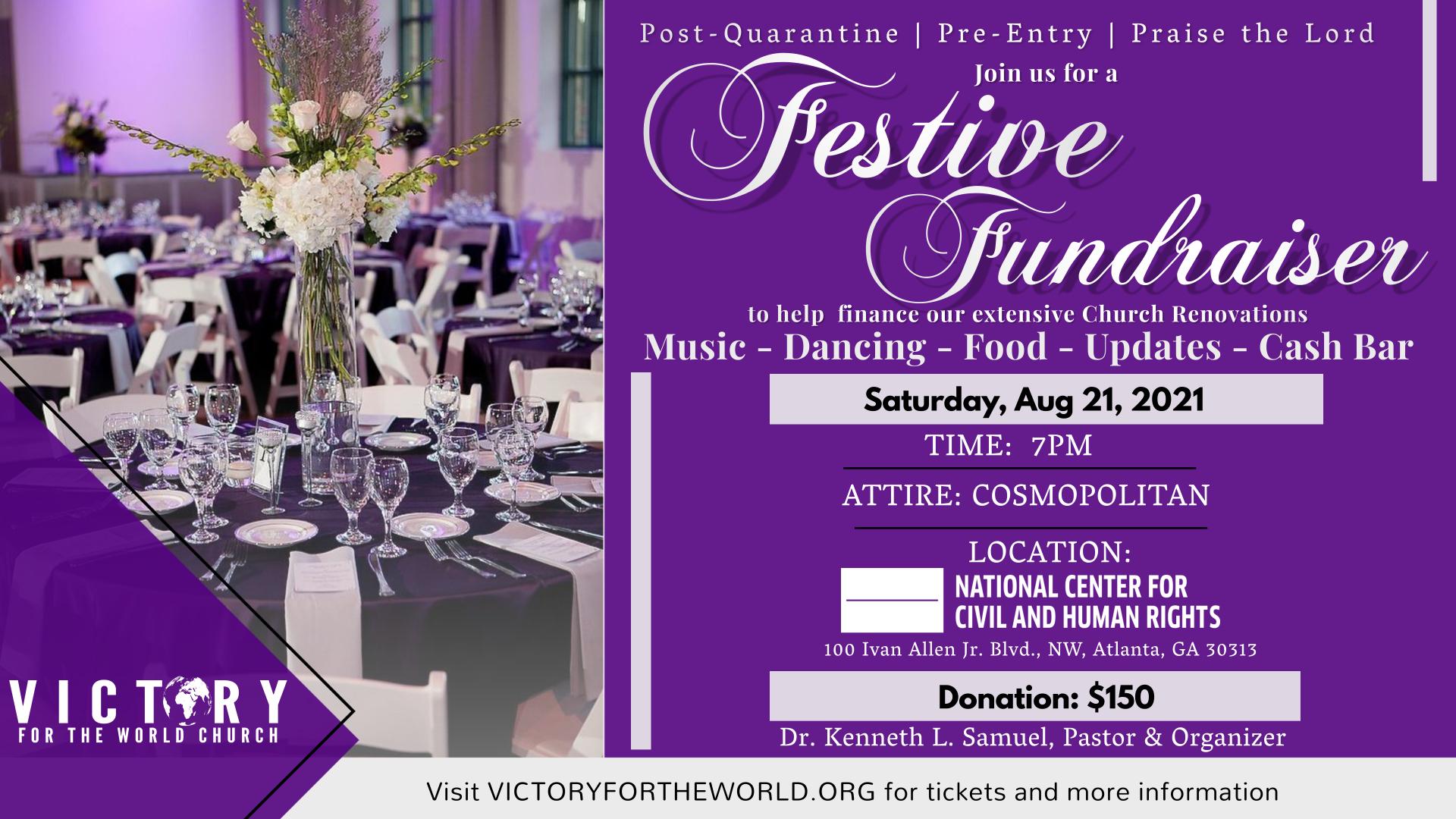 Festive Fundraiser