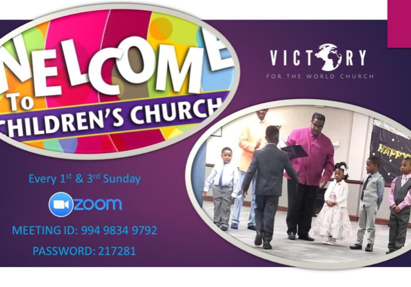 Children's Church Flyer updated 5-24-21