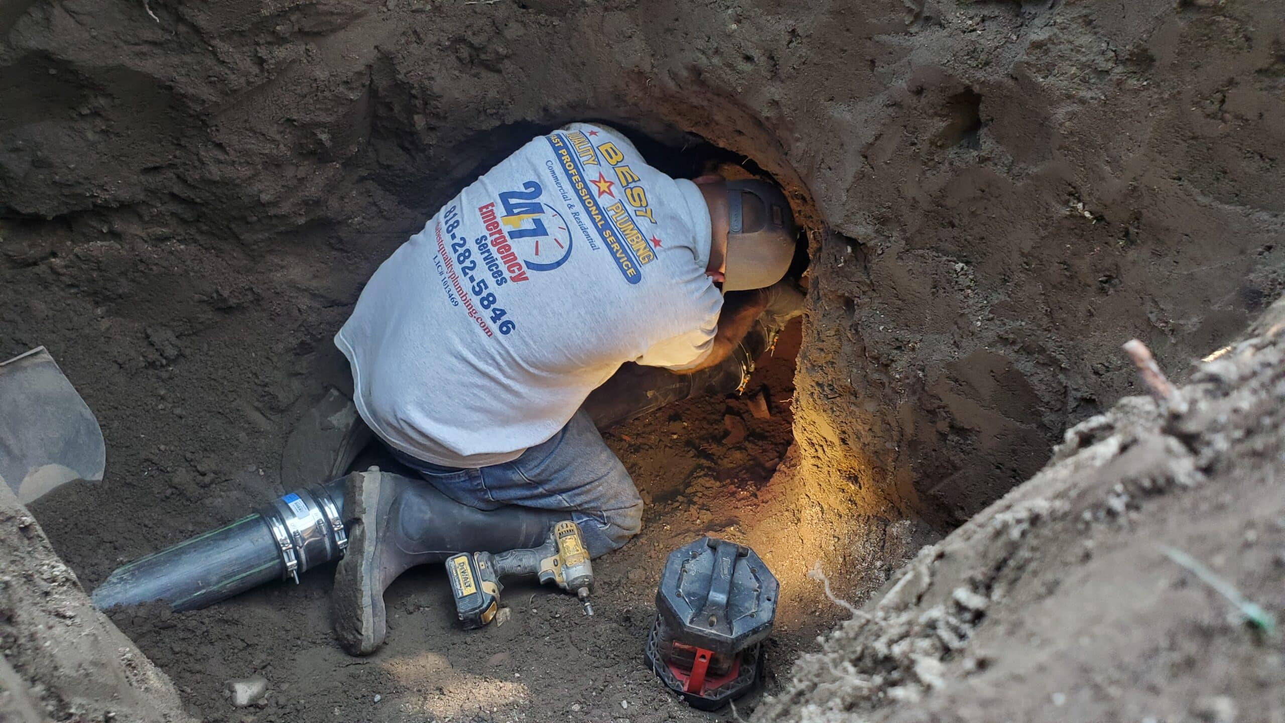 trenchless sewer repair in sylmar