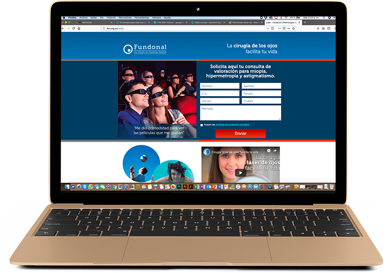Diseno de una-Landing-Page-agencia-marketing-digital-bogota