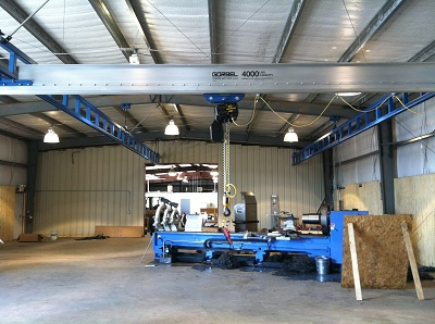 Ceiling Mounted Workstation Crane