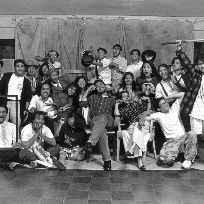 photo of Cast and crew for CPs 1st production