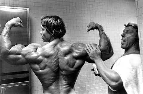 Rear deltoids -- Arnie
