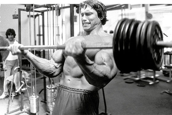 get jacked like arnie