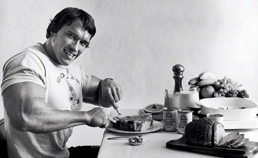 arnie eating