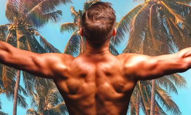 beach body -- summer superhero