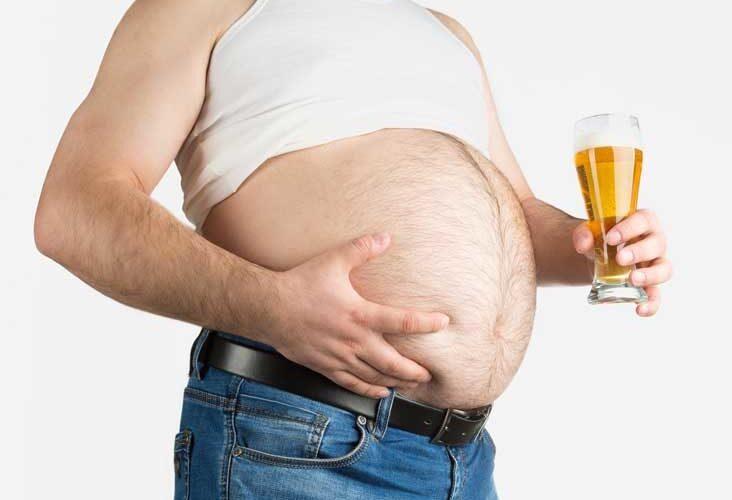 estrogen beer belly