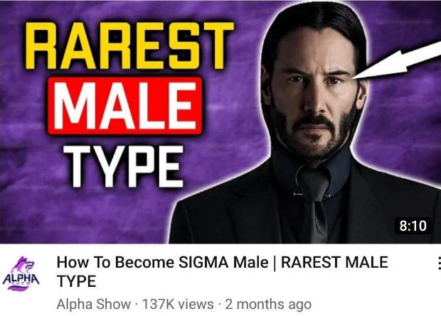 sigma male high testosterone