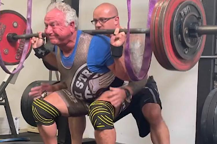 Rudy Kadlub squat