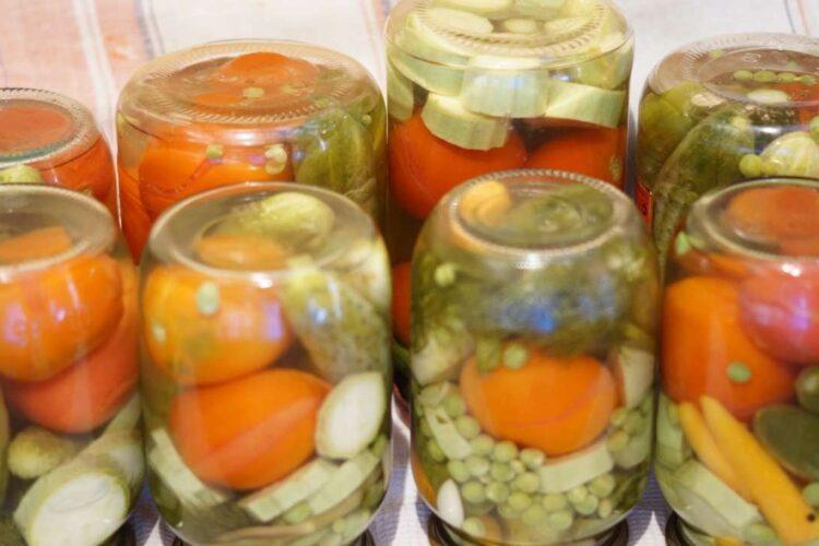 salted vegetables