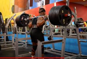 russel orhii squat