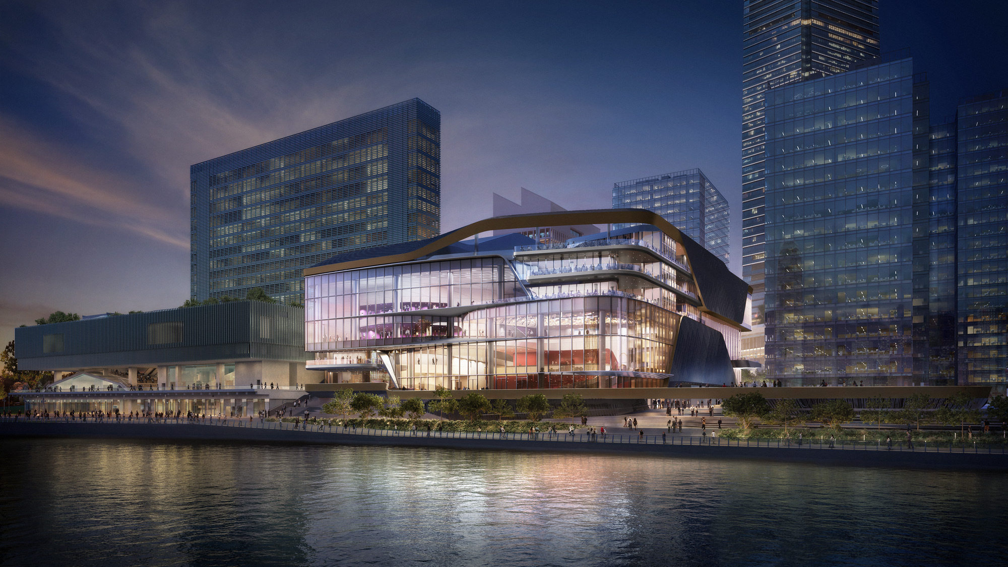 Lyric TheatreWest Kowloon Cultural District_Image © WKCD