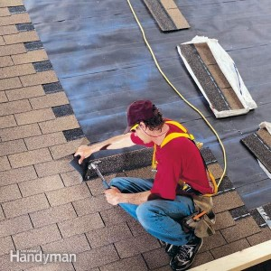 even the family handyman is taking shortcuts