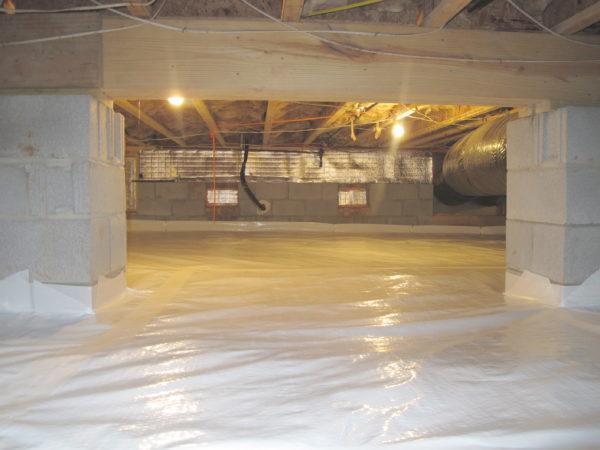 Sealed Vapor Barrier
