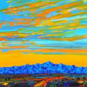 Santa Rita Sunset 40x40