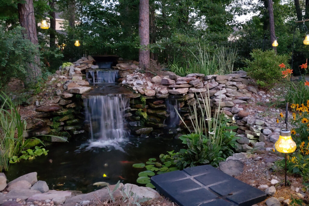VA Waterscapes Koi Pond Waterfall1