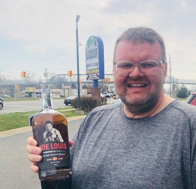 Joe Louis Bourbon - Here is Joe - Parkway Beverage, Clinton, Michigan
