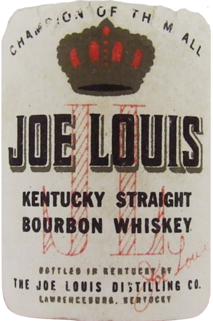 Joe Louis Bourbon - Champion of them all - label first release 1952