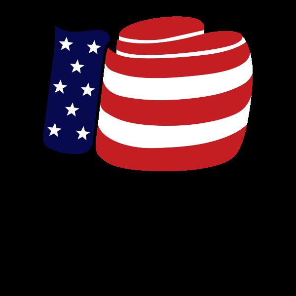 Joe Louis Bourbon - USA Boxing logo