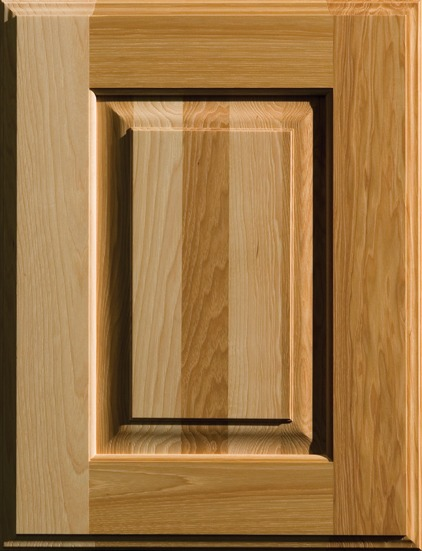 Natural Hickory Cabinet