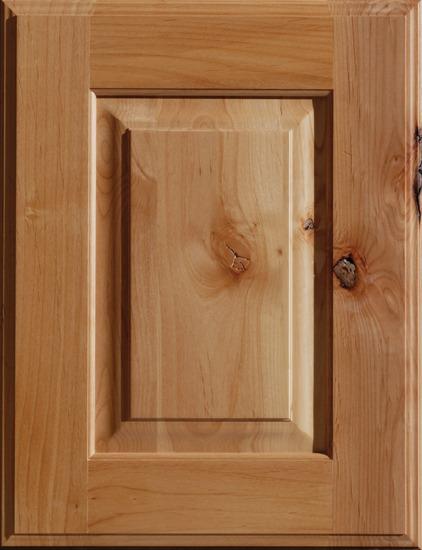 Natural Knotty Alder Cabinet