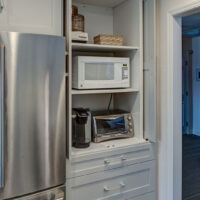 Custom Appliance Cabinet