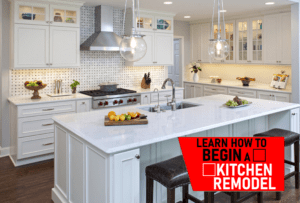 learn how to begin a kitchen remodel