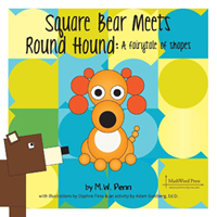 Square Bear Meets Round Hound by M.W. Penn