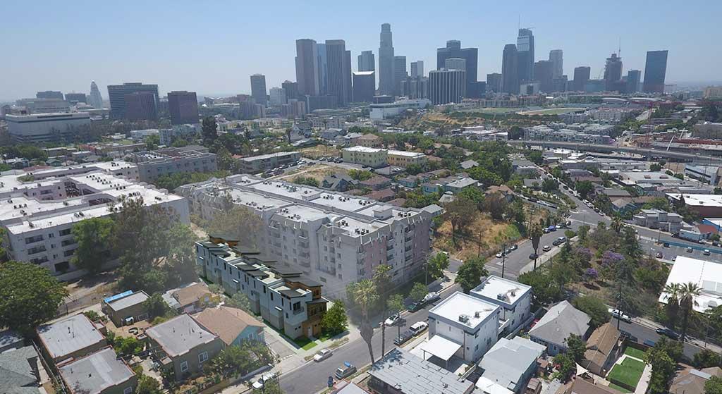 Aerial image of 314 Douglas Street.