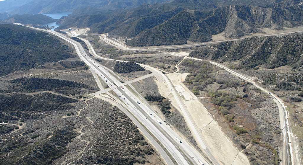 Aerial image of Interstate 5 Adjacent.