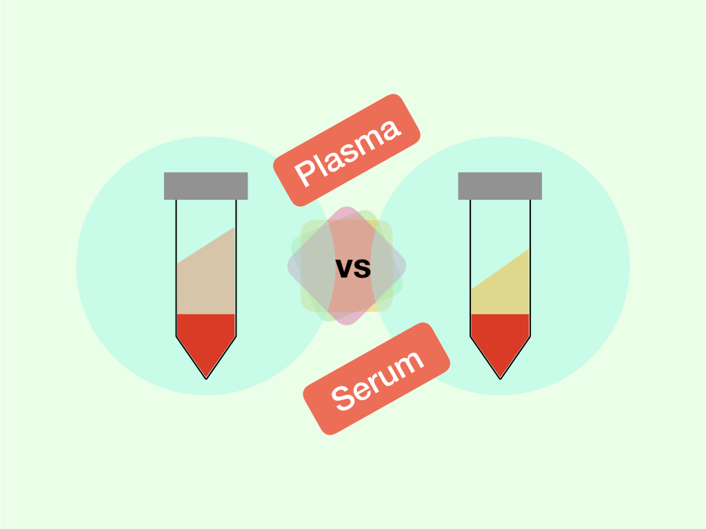 Differences between plasma vs serum