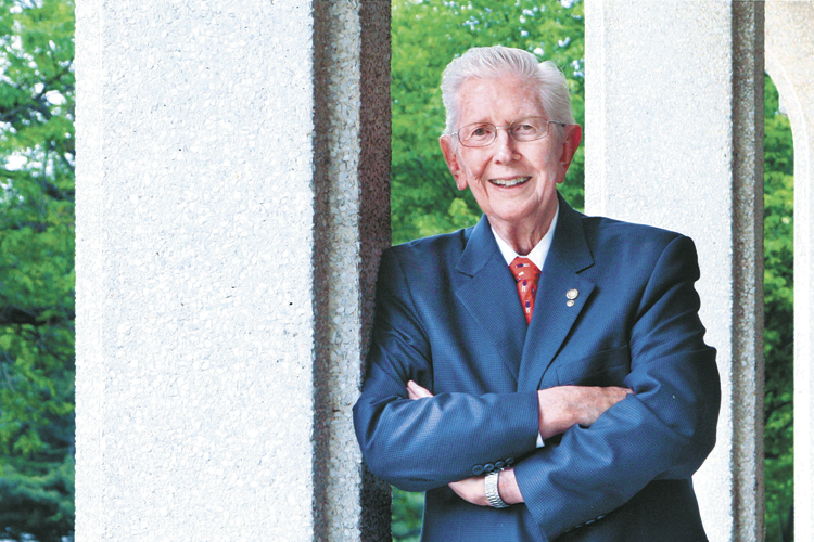 Southwestern Michigan College founder  chronicles history of building school