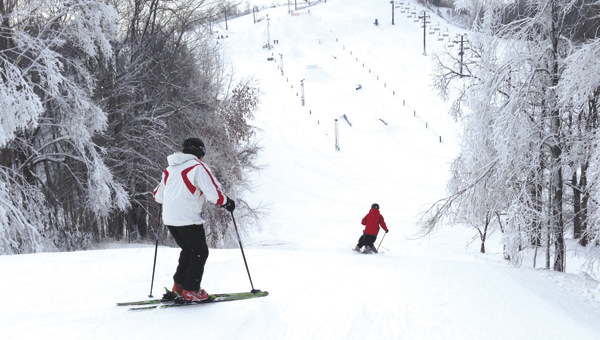 Hit the slopes at Swiss Valley