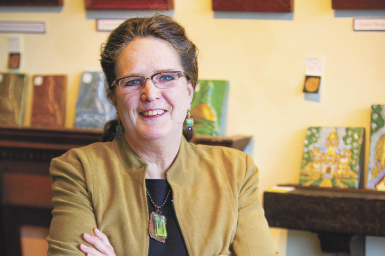 Gallery owner returned to artistic roots with tile making