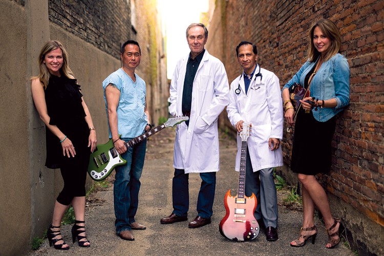Physicians use love of music to raise money for charity