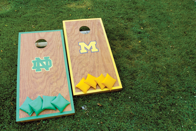 Personalize your pigskin party