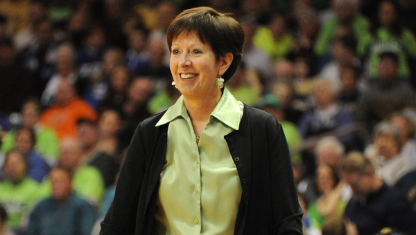 Leaving a legacy: Notre Dame coach leads way on sidelines, beyond