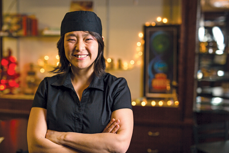 Homegrown: Olfactory Hue Bistro  owner brings culinary  expertise back to her roots