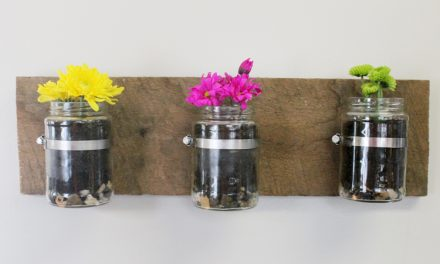DIY: Indoor flower garden