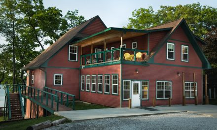 Cassopolis rental lodge built for fellowship