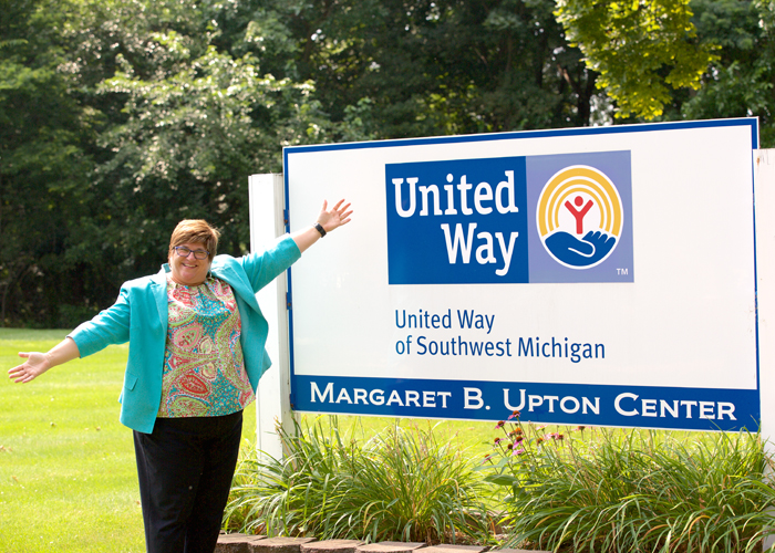 United Way director uses vivacious personality to reach people all across southwest Michigan