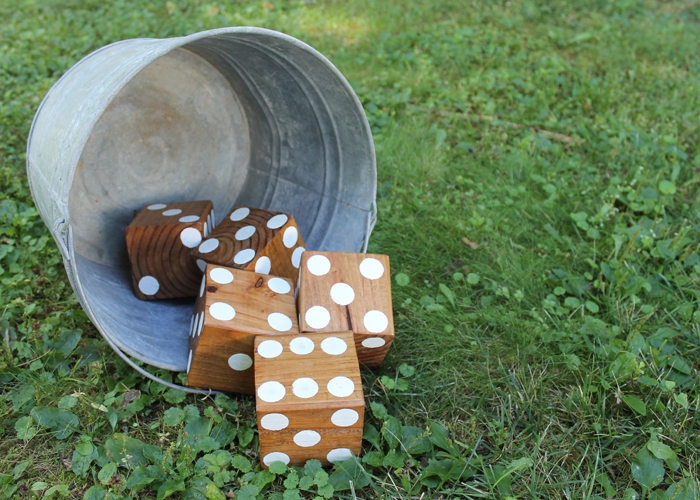 Roll out the fun for fall with this DIY game
